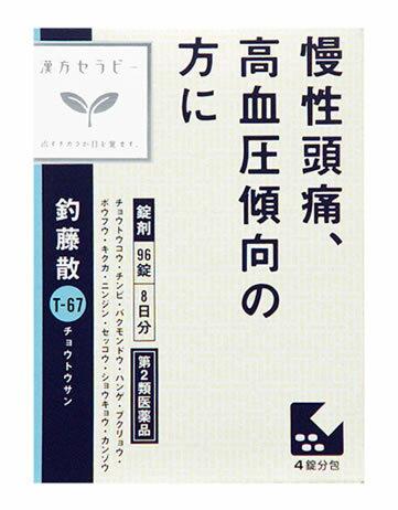 【第2類医薬品】クラシエ薬品 クラシエ 釣藤散料 エキス錠 (96錠) ツルハドラッグ