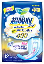 【特売セール】 花王 ロリエ 超吸収ガード 400 特に多い夜に 羽つき 40cm (12コ入) 【医薬部外品】 ツルハドラッグ