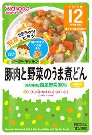 和光堂ベビーフード グーグーキッチン 豚肉と野菜のうま煮どん (80g) 12ヶ月頃から 歯ぐきで噛める固さ ツルハドラッグ ※軽減税率対象商品