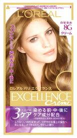 ロレアル パリ エクセランス N クリームタイプ 8G 黄味のあるより明るい栗色 白髪染め