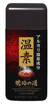 アース製薬 温素 琥珀の湯 とろさら美肌湯 約15回分 (600g) 【医薬部外品】 ツルハドラッグ