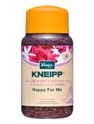 ドイツ製バスソルト KNEIPP クナイプ ハッピーフォーミー ロータス&ジャスミン香り (600g) 入浴剤 ツルハドラッグ