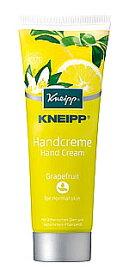 ドイツ製ハンドクリーム KNEIPP クナイプ グレープフルーツの香り (75mL) ツルハドラッグ