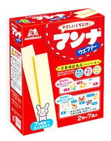 森永製菓 マンナ ウェファー (2枚×7袋入) 7ヶ月頃から ツルハドラッグ ※軽減税率対象商品