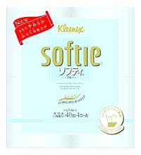 日本製紙 クレシア クリネックス ソフティ ダブル ウォーターブルー (4ロール) トイレットペーパー ツルハドラッグ