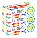 【特売】 日本製紙 クレシア スコッティ キッチンタオル ボックス (150枚(75組)×3箱パック) キッチンペーパー ツルハドラッグ