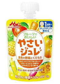 森永乳業 フルーツでおいしい やさいジュレ 黄色の野菜とくだもの 12ヵ月頃から (70g) ジュレ ツルハドラッグ ※軽減税率対象商品