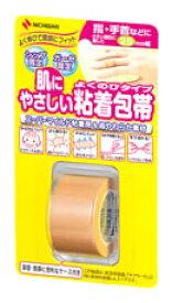 ニチバン 肌にやさしい 粘着包帯 よくのびタイプ NHB25 幅25mm (1個) ツルハドラッグ
