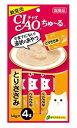 【特売】 いなばペットフード CIAO チャオ ちゅ〜る とりささみ (14g×4本)