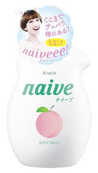 クラシエ ナイーブ ボディソープ 桃の葉エキス配合 ジャンボ (530mL)