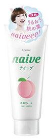 クラシエ ナイーブ 洗顔フォーム 桃の葉エキス配合 (130g) ツルハドラッグ