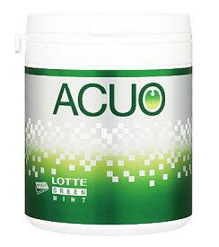 ロッテ ACUO アクオ グリーンミント ファミリーボトル (140g) チューイングガム ツルハドラッグ ※軽減税率対象商品