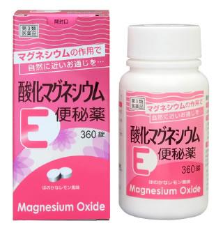 【第3類医薬品】【ポイント2倍】 健栄製薬 酸化マグネシウムE便秘薬 (360錠) ツルハドラッグ