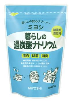 ミヨシ石鹸 暮らしの過炭酸ナトリウム (500g) ツルハドラッグ
