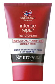 ジョンソンエンドジョンソン ニュートロジーナ ノルウェーフォーミュラ インテンスリペア ハンドクリーム 超乾燥肌用 無香料 (50g) ツルハドラッグ