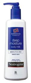 ジョンソンエンドジョンソン ニュートロジーナ ノルウェーフォーミュラ ディープモイスチャー ボディミルク 乾燥肌用 無香料 (250mL) ツルハドラッグ