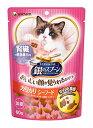 ユニチャーム ペットケア 銀のスプーン おいしい顔が見られるおやつ 腎臓の健康維持用 カリカリ シーフード (60g) 猫用おやつ キャットフード