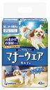 【特売】 ユニチャーム ペットケア マナーウェア 男の子用 Mサイズ 小〜中型犬用 (42枚) 犬用おむつ