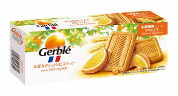 大塚製薬 ジェルブレ Gerble バイタリティー 小麦胚芽シリーズ 大豆&オレンジ ビスケット (20枚入) フレンチ ダイエテティック シークレット