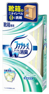 P&G ファブリーズ 置き型 靴箱用 ピュアクリーンの香り (130g) 消臭剤 【P&G】