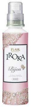 花王 フレア フレグランス イロカ IROKA ビジュー Bijou パウダリーピオニーの香り 本体 (570ml) 柔軟剤