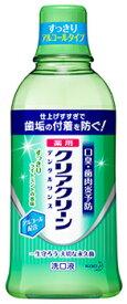 花王 クリアクリーン デンタルリンス ライトミント (600mL) 洗口液 【医薬部外品】 ツルハドラッグ