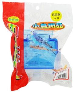 ナチュラルペットフーズ エクセル 小鳥用品 蓋付餌入れ 抗菌剤入り (1個) 小鳥用 えさ入れ