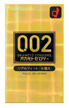オカモト オカモトゼロツー リアルフィット (6個) コンドーム 【管理医療機器】