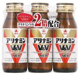 タケダ アリナミンV&V NEW (50mL×3本) 【指定医薬部外品】