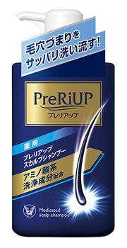 大正製薬 プレリアップ スカルプシャンプー ポンプ (400mL) 【医薬部外品】