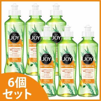 《セット販売》 P&G ジョイ ボタニカル ベルガモット&ティーツリー 本体 (190mL)×6個セット 食器用洗剤 【P&G】