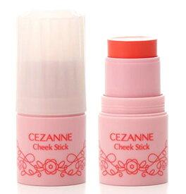 セザンヌ化粧品 チークスティック 02 コーラル (1個) クリームチーク