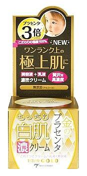 ミックコスモ ホワイトラベル 金のプラセンタもっちり白肌濃クリーム (60g) 保湿クリーム ジェルクリーム