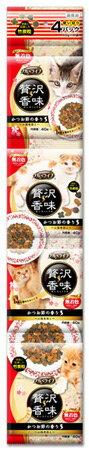 イースター グルメライフ 贅沢香味 かつお節の香り 小海老添え (40g×4袋) 国産 キャットフード ドライ