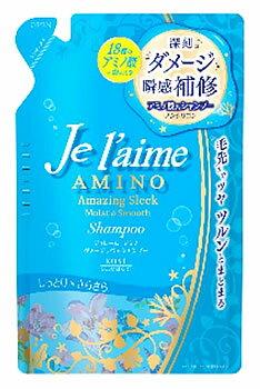 コーセー ジュレーム アミノ ダメージリペア シャンプー モイスト&スムース つめかえ用 (400mL) 詰め替え用 ノンシリコンシャンプー
