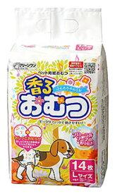 シーズイシハラ クリーンワン ペット用 香るおむつ Lサイズ (14枚) 中型犬用 紙オムツ