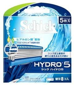 シック ハイドロ5 替刃 (8個) カミソリ 髭剃り 5枚刃