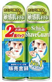シック 薬用シェーブガード シェービングフォーム (200g×2個パック) 【医薬部外品】