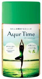 バスクリン アーユルタイム レモングラス&ベルガモットの香り 約18回分 (720g) 入浴剤 バスソルト