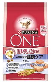 ネスレ ピュリナ ワン ドッグ ほぐし粒入り 7歳以上 これからも健康ケア チキン (2.1kg) ドッグフード ドライ
