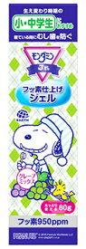 アース製薬 モンダミン ジュニア フッ素仕上げジェル グレープミックス味 (80g) 歯みがき粉 子ども用 【医薬部外品】