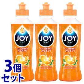 《セット販売》 P&G ジョイコンパクト バレンシアオレンジの香り 本体 (190mL)×3個セット 食器用洗剤 ジョイ 【P&G】