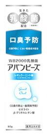 わかもと製薬 アバンビーズ レギュラーミント味 (80g) 歯磨き粉 【医薬部外品】