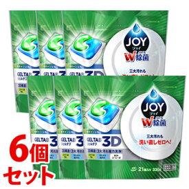 《セット販売》 P&G ジョイ ジェルタブ 3D (21個入)×6個セット 食洗機用洗剤 【P&G】