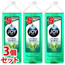 【特売】 《セット販売》 P&G ジョイコンパクト ローマミント 特大 つめかえ用 (770mL)×3個セット 詰め替え用 食器用洗剤 【P&G】