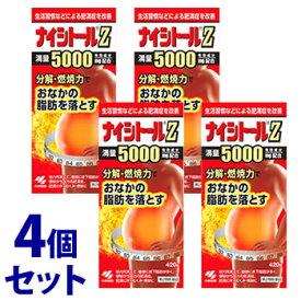 【第2類医薬品】《セット販売》 小林製薬 ナイシトールZ (420錠)×4個セット おなかの脂肪を落とす 【送料無料】 【smtb-s】