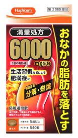 【第2類医薬品】ハピコム 北日本製薬 防風通聖散料エキス錠「至聖」 (540錠) 肥満症 しせい