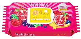BCLカンパニー サボリーノ 目ざまシート 完熟果実の高保湿タイプ (28枚) シートマスク フェイスマスク