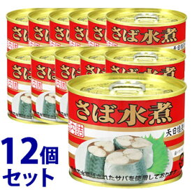 《セット販売》 キョクヨー 極洋 さば水煮 (190g)×12個セット 缶詰 サバ缶 ※軽減税率対象商品