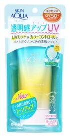 ロート製薬 スキンアクア トーンアップUVエッセンス ミントグリーン SPF50+ PA++++ (80g) 日焼け止め